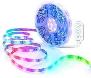 Tiras LED de 5M - Funciona con Alexa, Sync con Música.