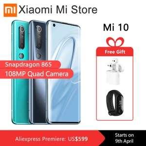 Xiaomi Mi10 Global + Xiaomi Air 2 + Mi band 3