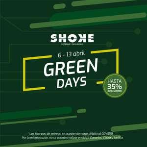 Green days en tienda shoke