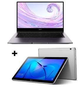 """Huawei MateBook D14 [Ryzen 5 + 8GB + 512GB] + Mediapad T3 [9.6"""" 2GB + 32GB]"""
