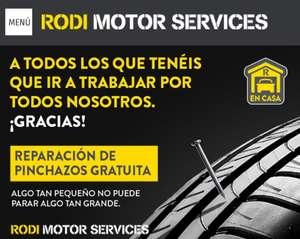 Reparación de pinchazos GRATIS para los trabajadores esenciales - RODI