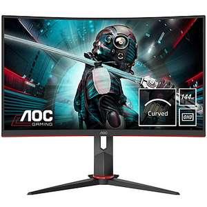 "AOC Gaming CQ27G2U/BK 27"" LED 2k QuadHD FreeSync 144Hz Curva"