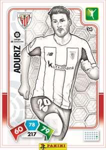 PANINI: Cromos imprimibles coloreables (Borja Iglesias, Sergio Asenjo, Aduriz, Muniain y el escudo del Athletic Club) - GRATIS