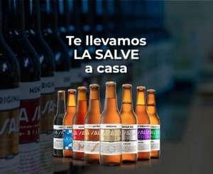 Regalo de 24 unidades de Cerveza LA SALVE BILBAO (Pedido superior a 30€, Solo Vizcaya)
