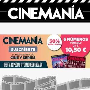 Suscripción a Cinemanía durante 6 meses al 50%