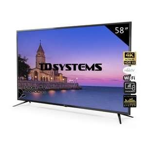 "TV 58"" Led Ultra HD 4K Smart TD Systems"