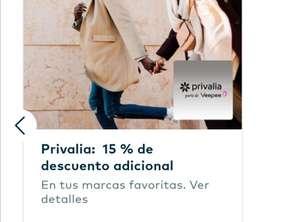 15% de descuento extra en Privalia
