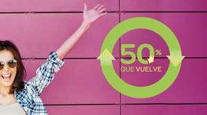 50% que vuelve en Carrefour del 12 al 25 de mayo