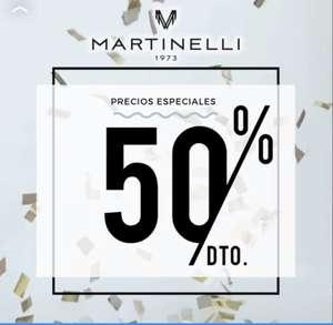 50% descuento en Martinelli - Outlet