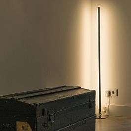 Lámpara de pie moderna LED cromo - Line-up