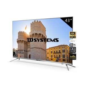 "TV 43"" Led Ultra HD 4K Smart TD Systems K43DLJ10US"