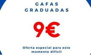 Gafas graduadas a 9,34 envío a España