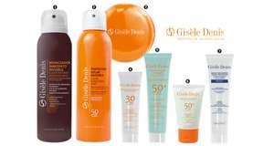 Línea 7 productos cuidado solar Gisèle Denis gratis con suscripción Revista Woman Pocket