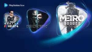 Metro Exodus, Dishonored 2 y NASCAR 4 se incorporan a PS Now en junio