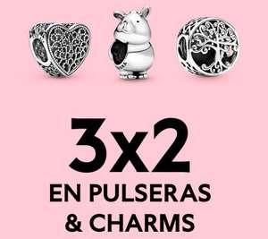 PANDORA 3X2 en charms y pulseras