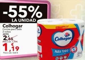 2 Maxi rollos Colhogar x 1.19 € y más ofertas... en clarel
