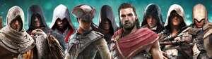 [PC] Pack Assassin's Creed Animus: Todos los juegos y DLCs [VPN Brazil]