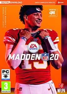 Madden NFL 20 Standard PC Código ORIGIN