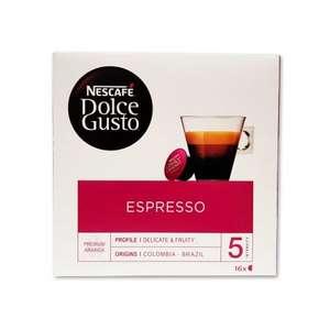 96 Cápsulas Dolce Gusto Espresso Intensidad 5