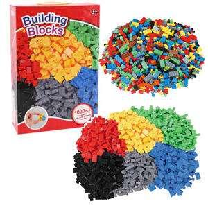 Caja 1000 piezas compatible con LEGO (AlCampo)