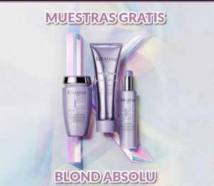 Muestras gratis triples de Blond Absolu