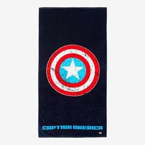 Toalla Playa Capitán América. (140X70cm)