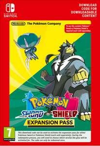 Pase de expansión de Pokemon Escudo y Espada - Nintendo Switch