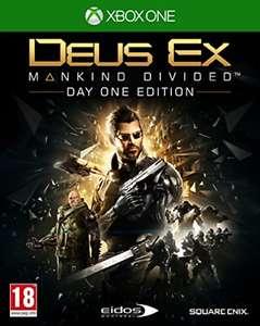Deus Ex Mankind Divided Day One para XBOX One