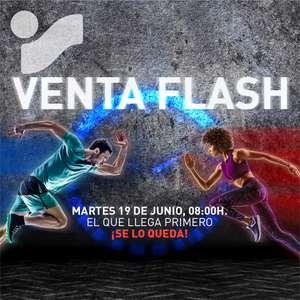 Venta flash Intersport hasta 30% dto   ¡Solo 24h!