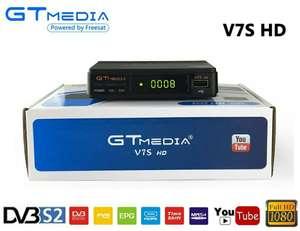 Decodificador satélite FreeSat V7S + módulo WiFi + 5 clines CCCAM