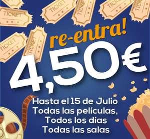 Entradas de cine 4,50€ neocine Región de Murcia