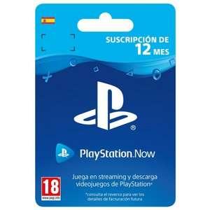 PlayStation Now Suscripción 12 Meses Digital