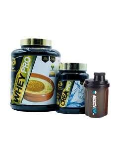 Pack Aumento Muscular Creatina + Mezclador REGALO
