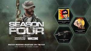Recompensas gratuitas para Call of Duty: Modern Warfare y Warzone viendo streamings en Twitch