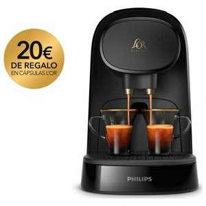 Cafetera Philips L´Or Barista + 20€ en Café y reembolso del IVA en cupón