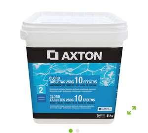 Cloro 10 efectos AXTON en pastillas 250 gr (5 kg)