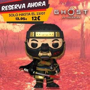 Reserva Funko pop Ghost of Tsushima a 12€