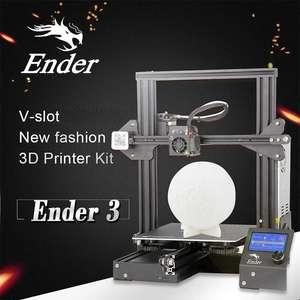 Impresora 3D Creality Ender 3 con E. Rápido