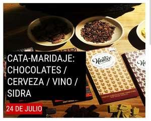 CATA-MARIDAJE: CHOCOLATES / CERVEZA / VINO / SIDRA, en X-Madrid