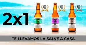 Promoción 2x1 en Cervezas LA SALVE