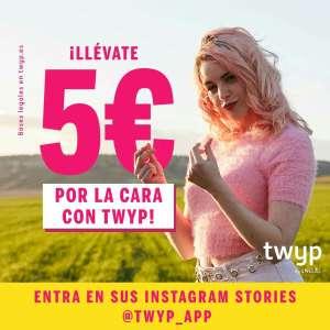 5€ GRATIS con Twyp