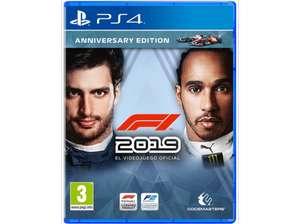 F1 2019 edición aniversario ps4