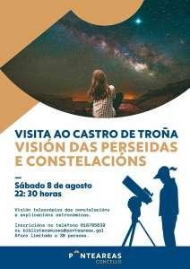 Visita al Castro de Troña Y observación astronómica