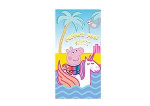 Toalla playa Pepa Pig con licencia oficial