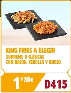 King Fries por 1,50€