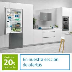 Ofertas en electrodomésticos hasta un 20% de descuento.