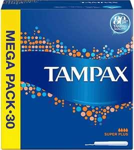 TAMPAX Superplus Tampones - 30 Unidades