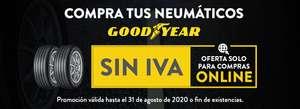 Neumáticos Goodyear sin IVA