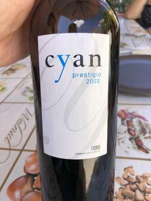 Cyan prestigio 2003