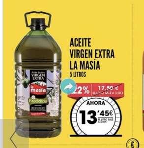 Aceite virgen extra la masía 5 l en ahorramas